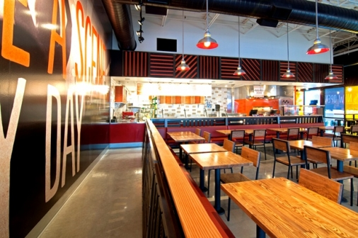 Construction project completed by HC Company - Blaze Pizza
