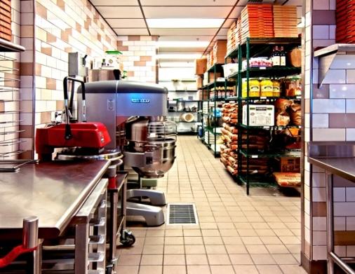 Kitchen of Blaze Pizza
