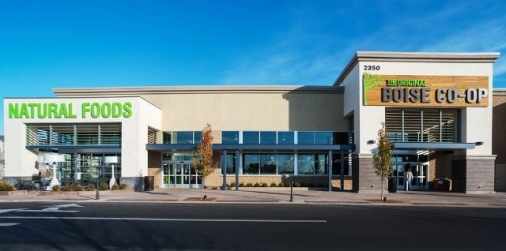 Boise Co-op Construction project completed by HC Company - exterior view