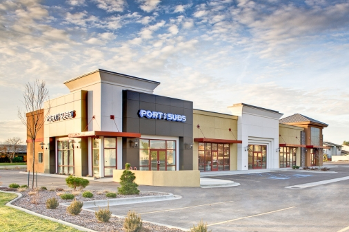 Columbia Trust Retail Center Construction project completed by HC Company - Idaho