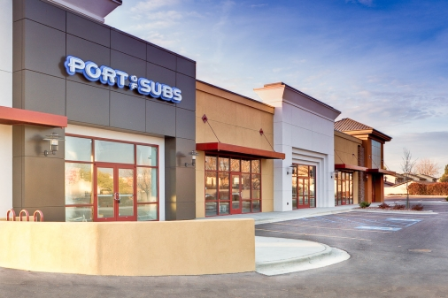 Construction project completed by HC Company - Columbia Trust Retail