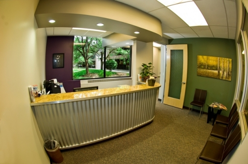 Lobby at Doctor Crump's Office