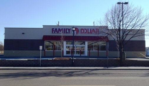 Family Dollar in Nampa Construction Project.