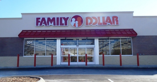 Construction project completed by HC Company - Nampa Family Dollar