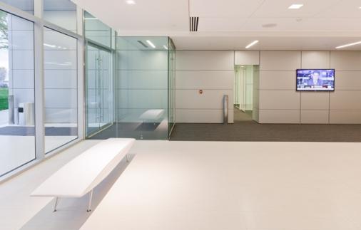Hewlett Packard main lobby