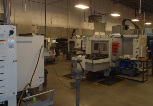 Interior of Industrial Manufacturing