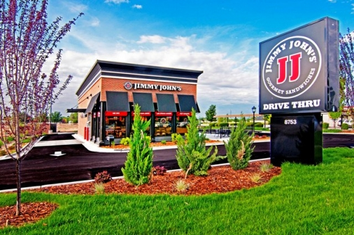 Construction project completed by HC Company - Jimmy John's