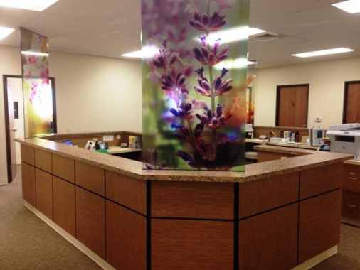 Lobby at LIfestages OBGYN