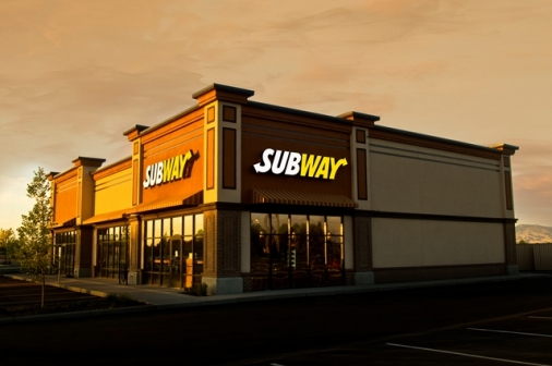 Construction project completed by HC Company - Subway at Majestic Retail