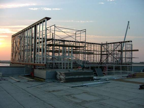 Construction project completed by HC Company - Mechanical Upgrades