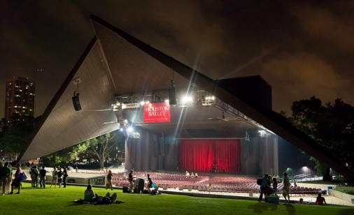 Construction project completed by HC Company - Miller Outdoor Theatre