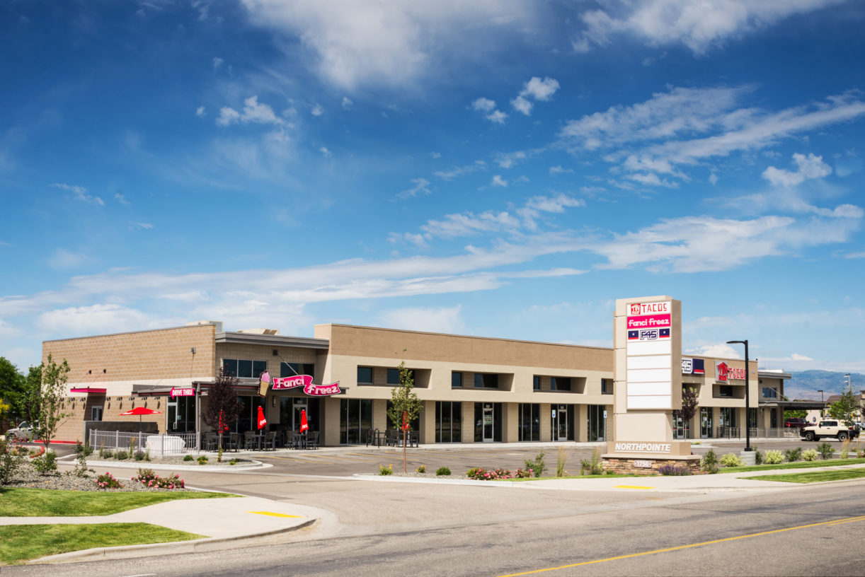 Construction project completed by HC Company - view of Northpointe Retail