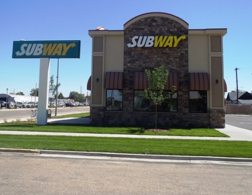 Construction project completed by HC Company - Subway Sandwich Shop