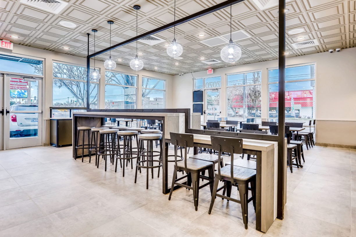 Construction project completed by HC Company - Taco Bell