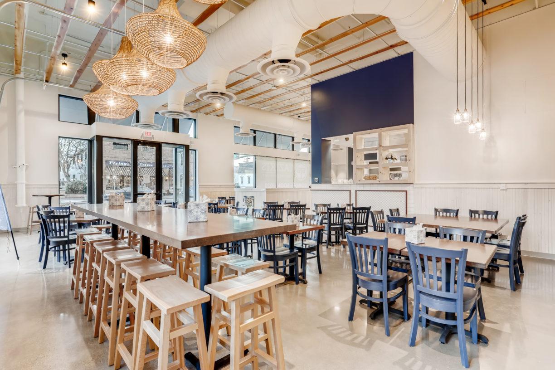 Taziki's Dining area - Boise