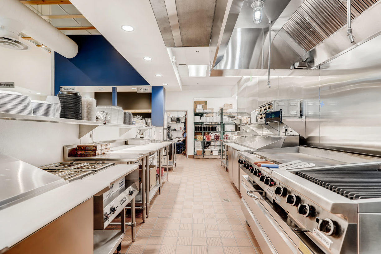 Kitchen at Taziki's in Downtown Boise