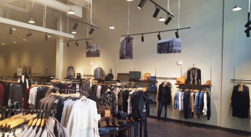Construction project completed by HC Company - retail space