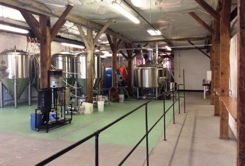 Brewing Tanks at Woodland Craft Ale