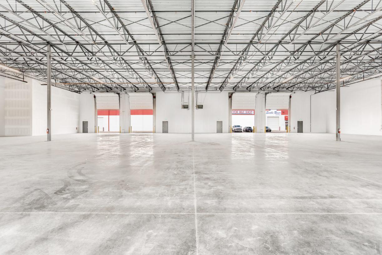 Industrial Way Warehouse Interior
